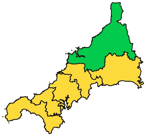 North Cornwall Parliamentary Constituency, 2010-present.
